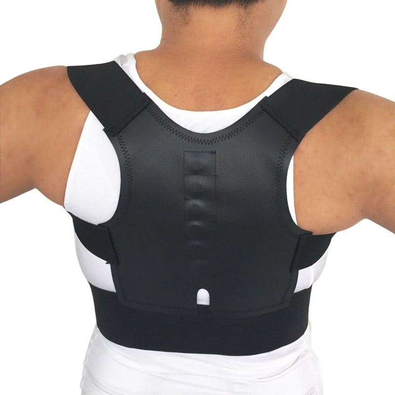 Child Adult Back Support Belt Adjustable Corset for the Back Magnetic Posture Corrector Orthopedic Spine Protector