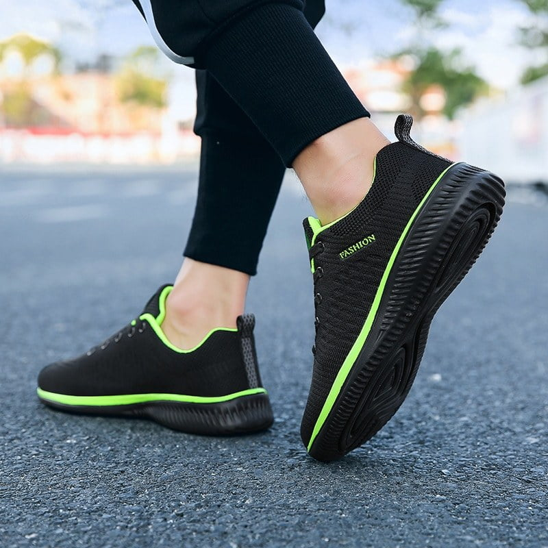 Ultralight Men Sneakers Mesh Running Shoes For Men Women Breathable Walking Jogging Sports Shoes Black Training Shoes Plus Size
